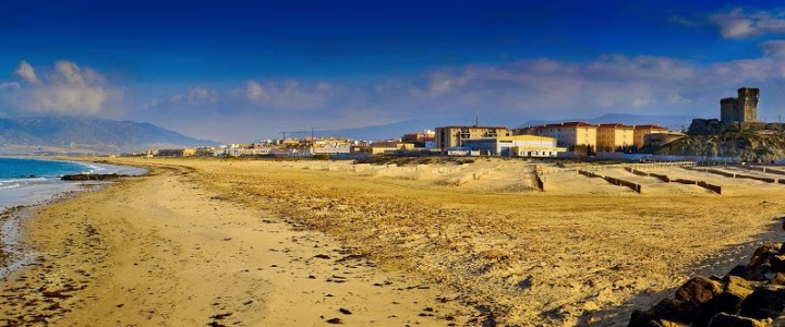 Panorama of  #Tarifa  !
