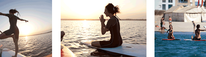 Sup – Yoga Course Isla Canela