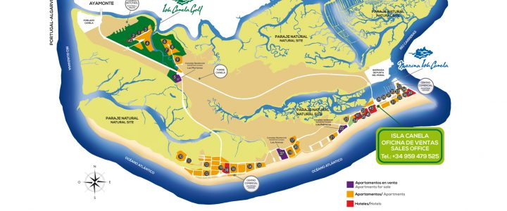 Where to stay in Isla Canela – Maps – Our Building Los Gavilanes.