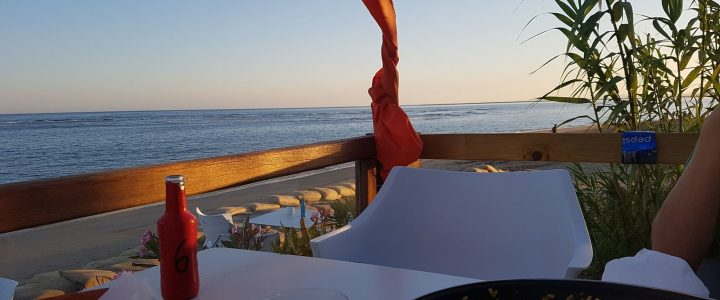 Where to eat and drink in Isla Canela – Terraces with a view – Paella Alfresco